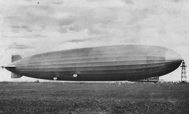 Os dirigíveis Zeppelin são até hoje as maiores aeronaves colocadas em operação na história [Airway)